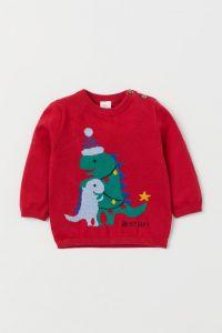 Святковий джемпер для малюка від H&M