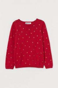 Бавовняний джемпер для дівчинки від H&M