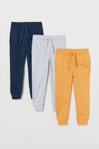 Спортивні штани з органічної бавовни 1шт. (жовті)