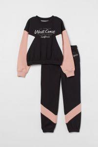 Комплект-двійка на флісі для дівчинки від H&M