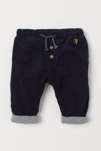 Вельветові штани з трикотажною підкладкою для хлопчика