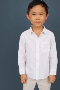 Сорочка з довгим рукавчиком для хлопчика