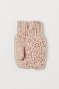 Теплі рукавички з флісовою підкладкою від H&M