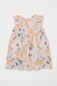 Трикотажне плаття з оборками для дівчинки