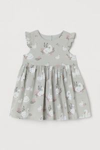 Бавовняна сукня для дівчинки