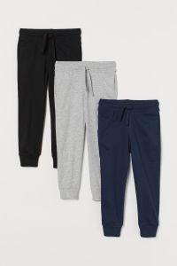 Спортивні штани з органічної бавовни 1шт. (чорні)