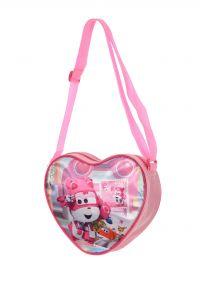 """Практична сумка через плече""""Super Wings"""" для дівчинки, Sun City HQ2562"""