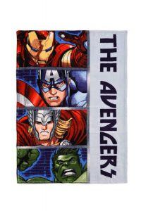 """Плюшевий плед """"Avengers"""", HQ 4350 (сірий)"""