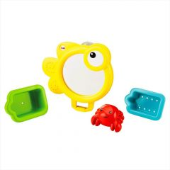 """Іграшки для ванної """"Черпачок, корзинка і дзеркало"""" Fisher-Price CMY27"""