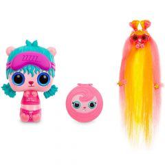 Ігровий набір Pop Pop Hair Surprise - Модна зачіска (лялька з фіолетовою маскою для сну), 561873