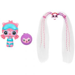 Ігровий набір Pop Pop Hair Surprise - Модна зачіска (лялька з бірюзовою маскою для сну), 561873