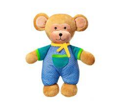"""М'яка іграшка з брязкальцем всередині """"Мавпочка Ерік"""" 30 см, 623 BABYONO"""