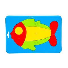 """Іграшка розвиваюча """"Baby puzzles"""" (рибка), WADER 39340"""