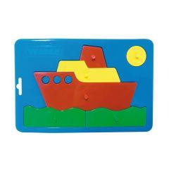 """Іграшка розвиваюча """"Baby puzzles"""" (кораблик), WADER 39340"""