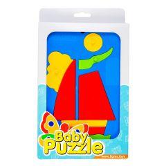 """Іграшка розвиваюча """"Baby puzzles"""" (парусник), WADER 39340"""