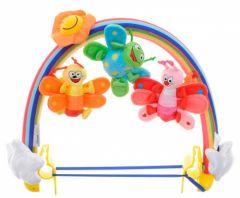 """Іграшка-брязкальце до візка """"Метелики"""" WeeWise 20111"""