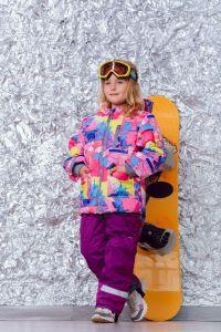 """Зимовий комплект """"Тереза"""" (з фіолетовими штанами), DC Kids"""