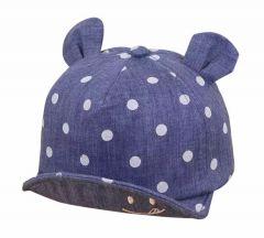 Літня кепка для дитини (синя)