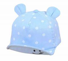 Літня кепка для дитини (блакитна)