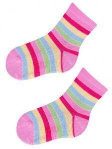 Шкарпетки для дівчинки (в полоску), YOclub  SK-10