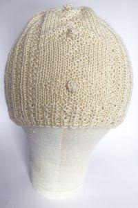 В'язана шапочка для дівчинки, ручна робота