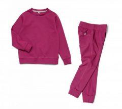 Трикотажний костюм для дівчинки, 11883