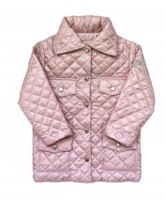 Стильна куртка з трикотажною підкладкою для дівчинки , КО-3