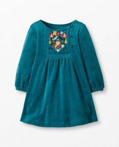 Велюрова сукня для дівчинки, 65157
