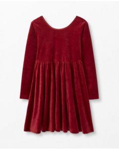 Велюрова сукня для дівчинки, 52498-7