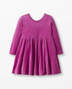 Велюрова сукня для дівчинки, 59798-1
