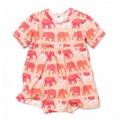 Трикотажне плаття-боді для дівчинки, 11358