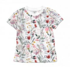 Трикотажна футболка для дівчинки, 11986-1