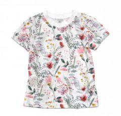 Трикотажна футболка для дівчинки, 11986