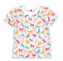 Трикотажна футболка для дівчинки, 11985-1