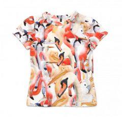 Трикотажна футболка для дівчинки, 11981