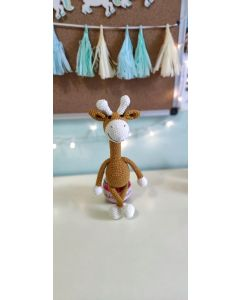 "В'язана іграшка ручної роботи ""Жирафа"", Rukodilna Lavka"