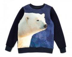 """Свитшот """"Белый медведь"""" для ребенка, 11644"""