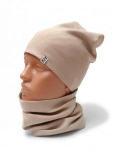 Трикотажный набор для ребенка (шапочка и хомут), 11638