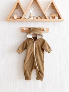 """Флісовий чоловічок """"Bear"""" для дитини (коричневий), 1206"""