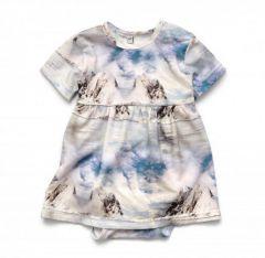 Трикотажне боді-плаття для дівчинки, 12029