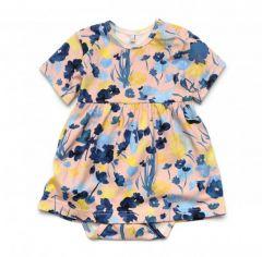 Трикотажне боді-плаття для дівчинки, 12028