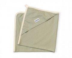 Трикотажна пеленка з капюшоном з органічної бавовни, 12072