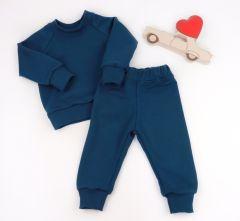 Трикотажний костюм з махровою ниткою всередині (темно-синій), Coolton