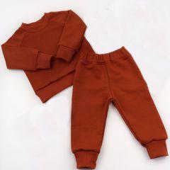 Трикотажний костюм з махровою ниткою всередині (кемел), Coolton