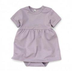 Трикотажне боді-плаття для дівчинки, 12043
