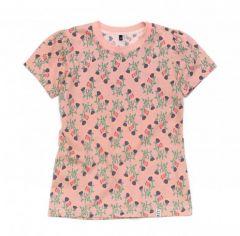 Трикотажна футболка для дівчинки, 12020-1