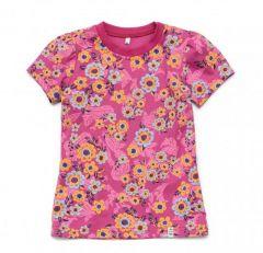 Трикотажна футболка для дівчинки, 11988-1