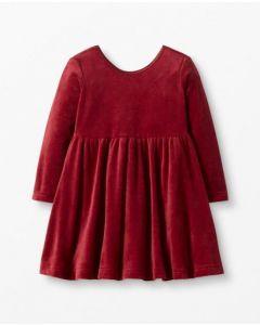 Велюрова сукня для дівчинки, 52789-7