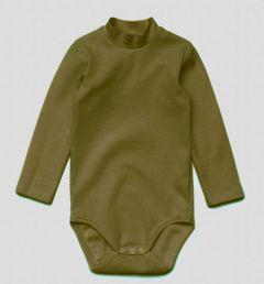 Трикотажний боді-гольф для дитини (хакі), 11499