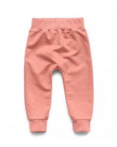 Трикотажні штани з легкою махровою ниткою для дівчинки, 12170